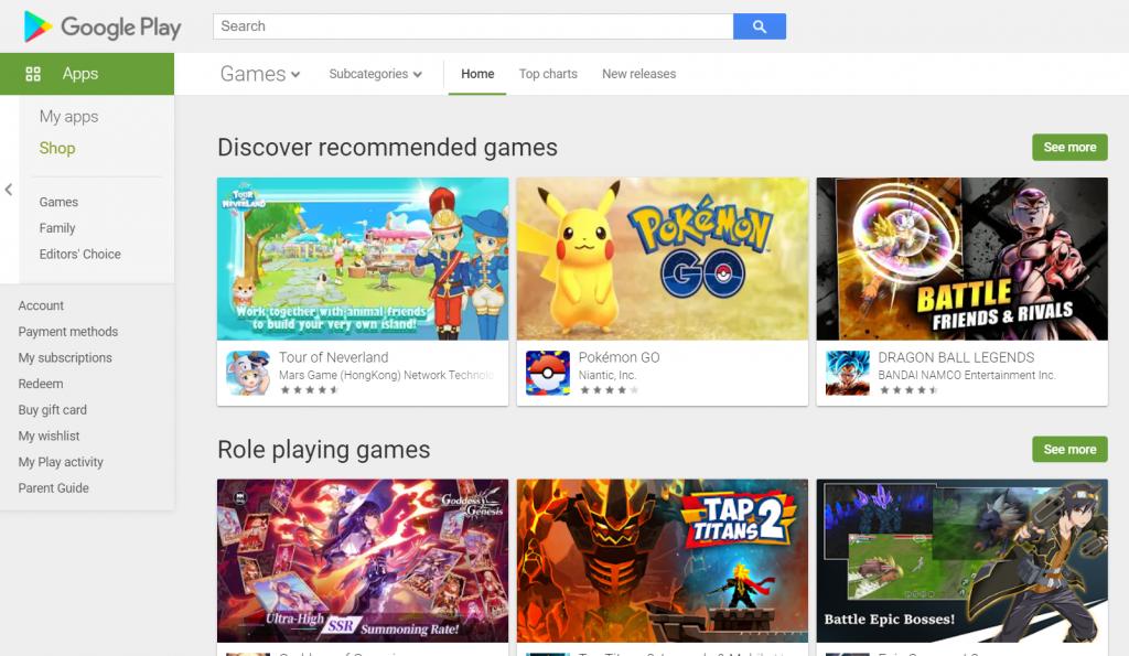 Jasa Rating Google Play Store